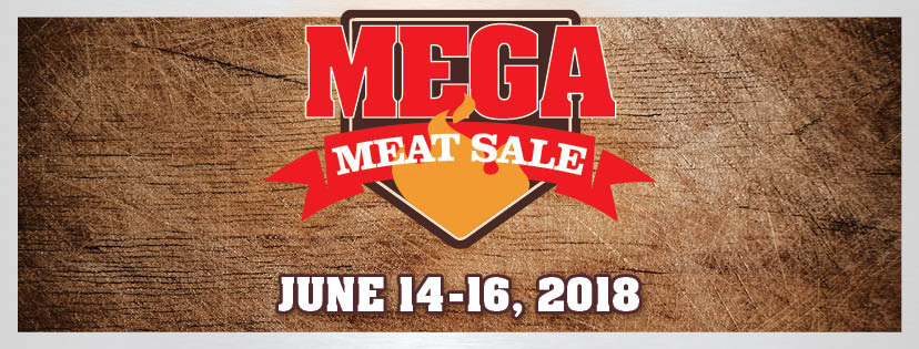 2018 Mega Meat Sale Facebook Cover