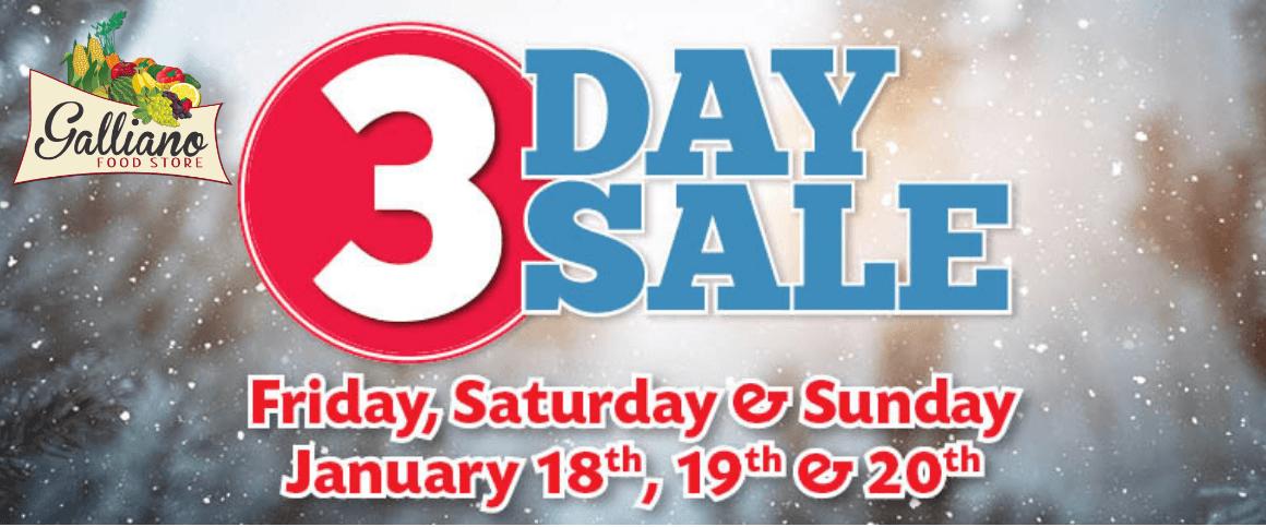 3 Day Sale-Website